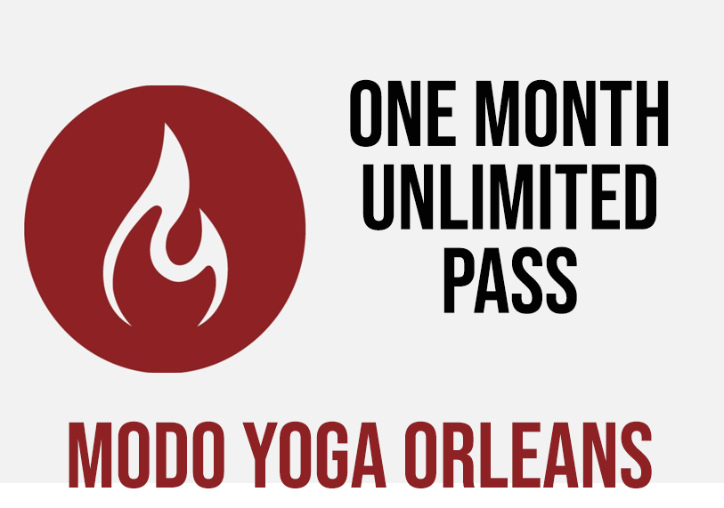 Modo Yoga One Month Unlimited Yoga Pass