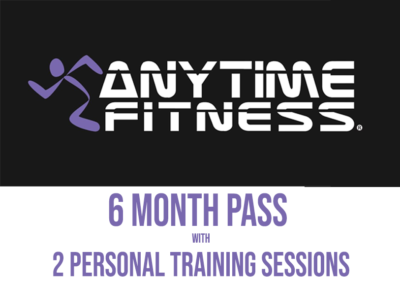 Anytime Fitness - 6 Month Pass + PT