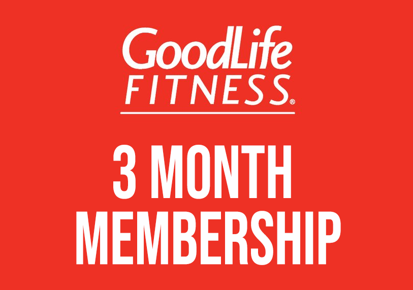 Goodlife Fitness 3 month pass
