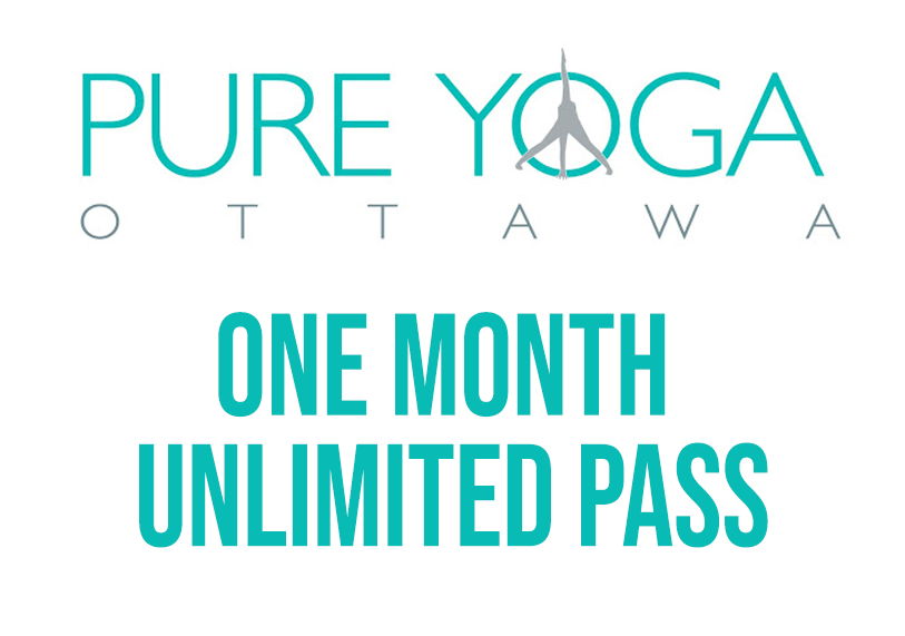 Pure Yoga - One Month Unlimited Yoga Pass