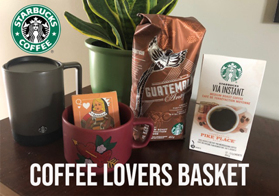 Starbucks Baseline & Merivale Coffee Basket