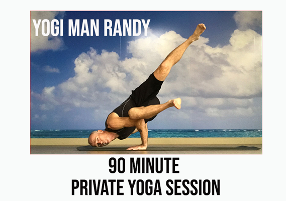 Yogi Man Randy - 90 Minute Private Yoga Lesson