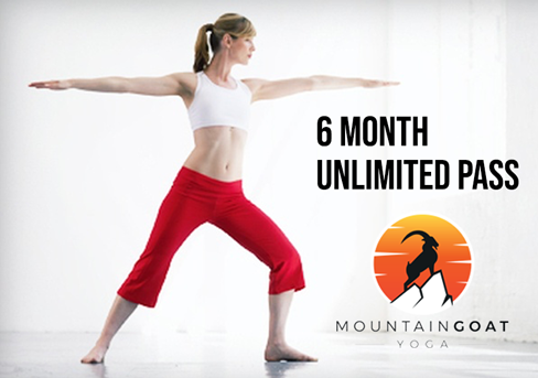 Mountaingoat Yoga - 6 Month Unlimited Pass