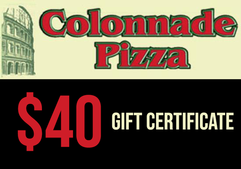 Colonnade Pizza, Carling Location $40 Gift Card