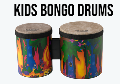 Kids Percussion Bongo Drum