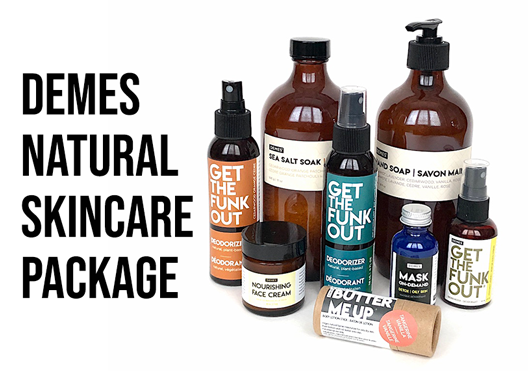 Demes Natural Vegan Skincare products