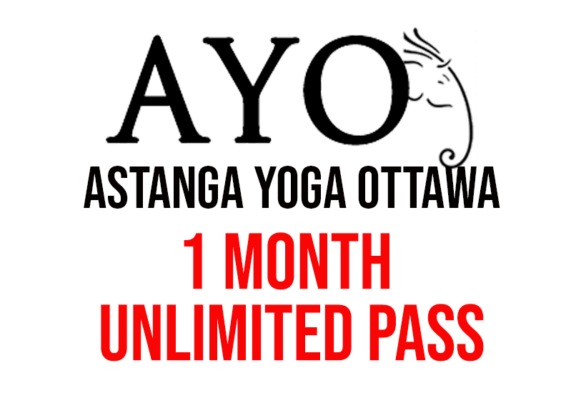 Astanga Yoga One Month Unlimited Yoga Pass