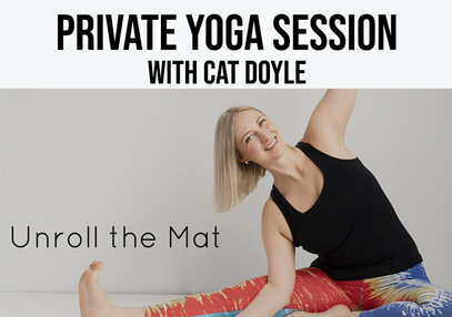 Private one on one - Review +  Yoga lesson with Cat Doyle