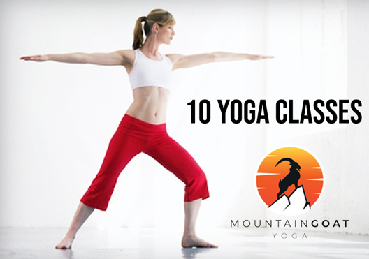 Mountaingoat Yoga - 10 Class Pass